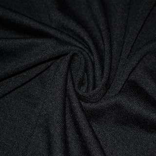 Трикотаж черный ш.170