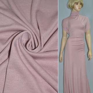Трикотаж серо-розовый ш.170