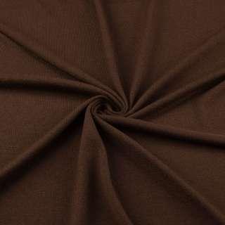 Трикотаж акриловый коричневый ш.170