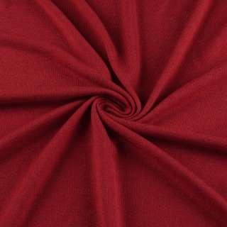 Трикотаж красный акриловый ш.170