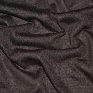 Трикотаж облегченный темно коричневый ш.160
