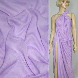 Трикотаж облегченный бледно фиолетовый ш.160