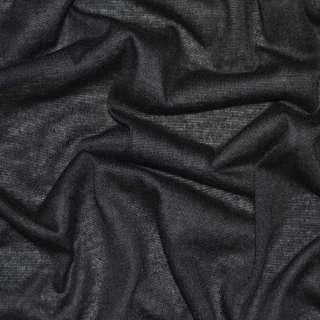 Трикотаж облегченный черный ш.160
