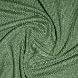 Трикотаж темно зеленый акриловый ш.170