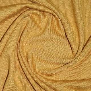 Трикотаж горчично золотистый акриловый ш.170