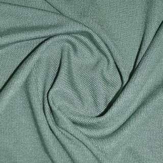 Трикотаж оливково серый акриловый ш.170