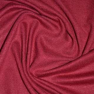 Трикотаж акриловый вишневый ш.170