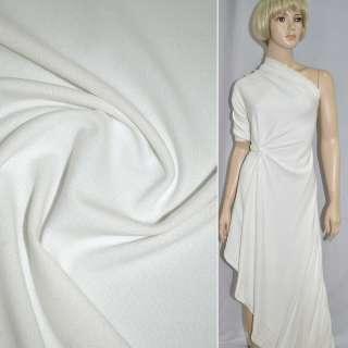 Трикотаж білий з дрібними штрихами ш.170
