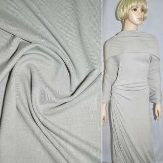 Трикотаж сірий світлий з дрібними штрихами ш.170