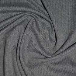 Трикотаж сірий з дрібними штрихами ш.170