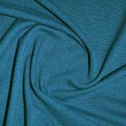 Трикотаж волошковий темний з дрібними штрихами ш.170