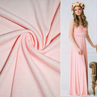 Трикотаж розово-персиковый ш.150