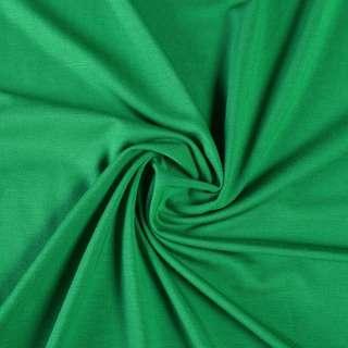 Трикотаж вискозный зеленый, ш.160