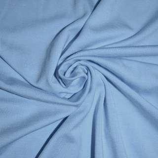 Трикотаж вискозный с эластаном голубой ш.170