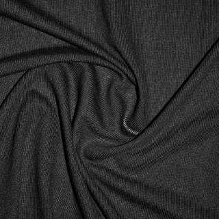 Трикотаж вискозный черный ш.170