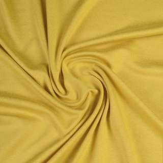 Трикотаж вискозный с эластаном серо-желтый ш.170