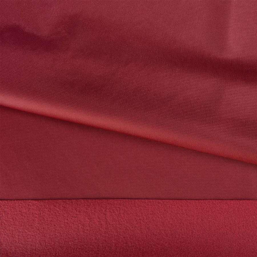 Трикотаж спорт с начесом бордовый ш.145