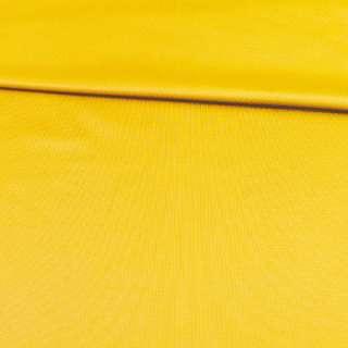 Трикотаж спорт с начесом желтый ш.145