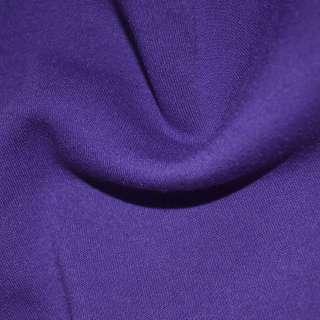 Трикотаж фиолетовый на флисе ш.160