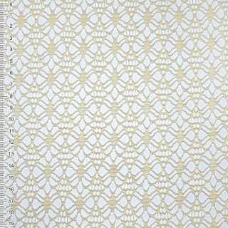 Сітка мереживо пшеничне квітка ш.170