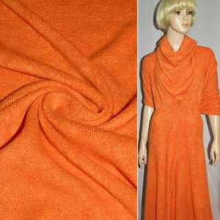 Трикотаж в'язаний помаранчевий ш.175