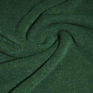 Трикотаж вязаный зеленый темный ш.175