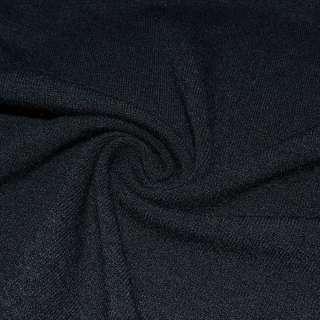 Трикотаж шерстяной черный ш.170
