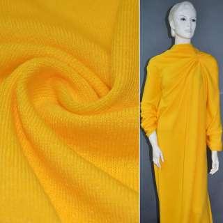 Трикотаж шерстяной желтый ш.180