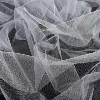 фатин (американская сетка) блестящ. белый, ш.140