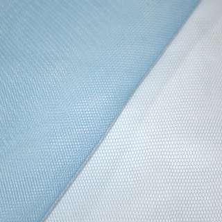 Фатин жесткий мелкий ярко-голубой ш.150