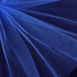 Фатин жорсткий синій світлий ш.180