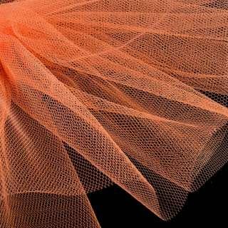 Фатин жорсткий помаранчевий ш.180