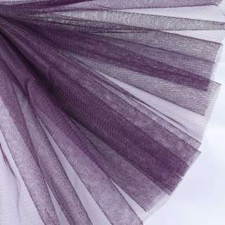 фатин жесткий фиолетовый темный ш.160