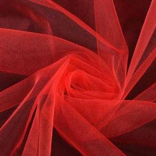 Еврофатин мягкий блестящий красный яркий ш.165