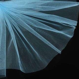 фатин ярко-голубой ш.160