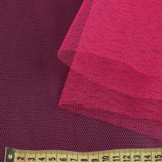Фатин жорсткий рожевий фуксія ш.180