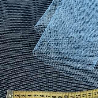 Фатин жорсткий блакитний ш.180