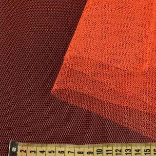 Фатін жорсткий помаранчевий ш.180
