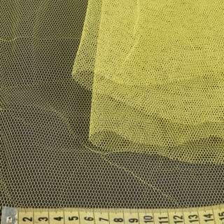 Фатін жорсткий жовтий ш.180
