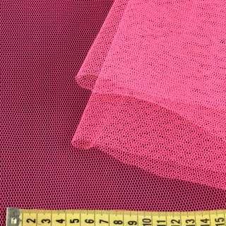 Фатин жорсткий рожевий ультра ш.180