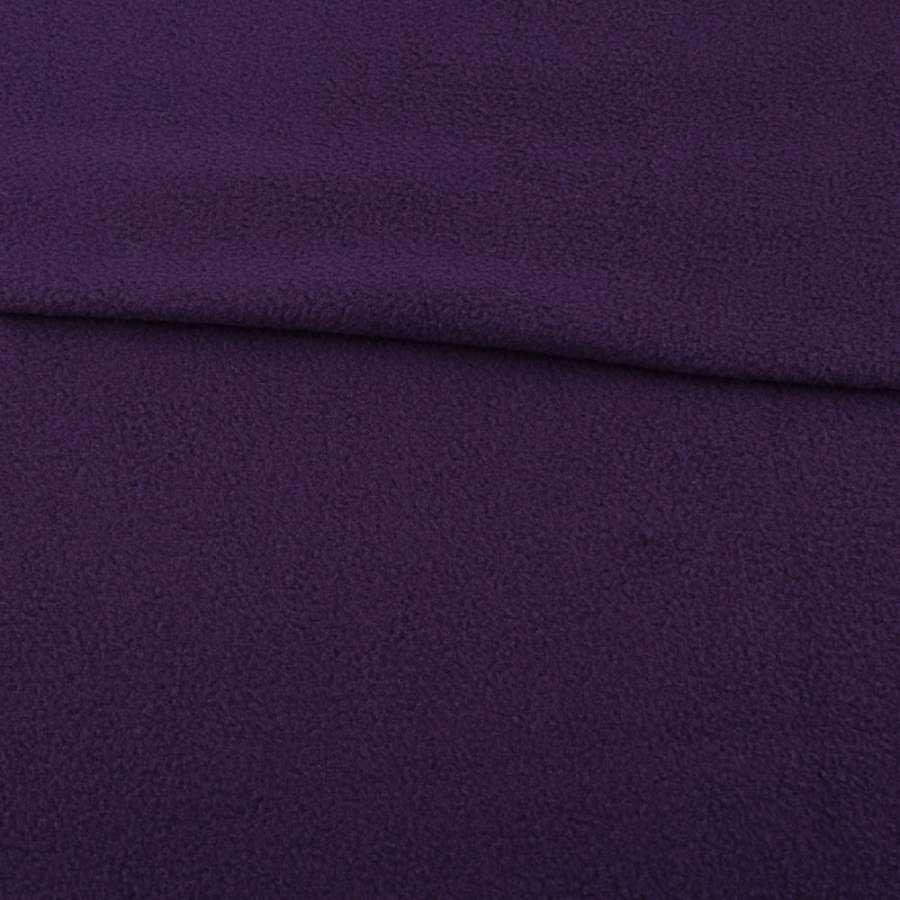 Фліс фіолетовий темний ш.160