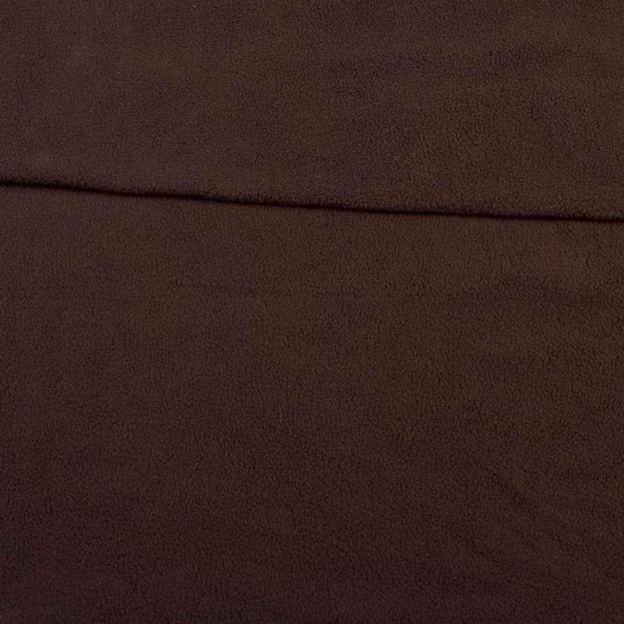 Фліс коричневий темний ш.165