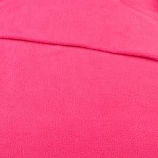 фліс малиновий світлий ш.170