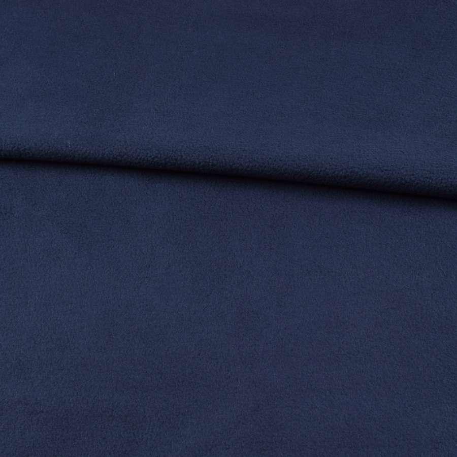 Фліс чорно-синій ш.190