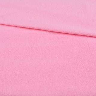 Флис розовый нежный ш.165