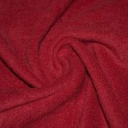 Флис красный темный ш.160