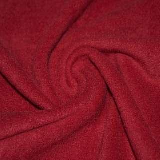 Флис темно красный ш.160