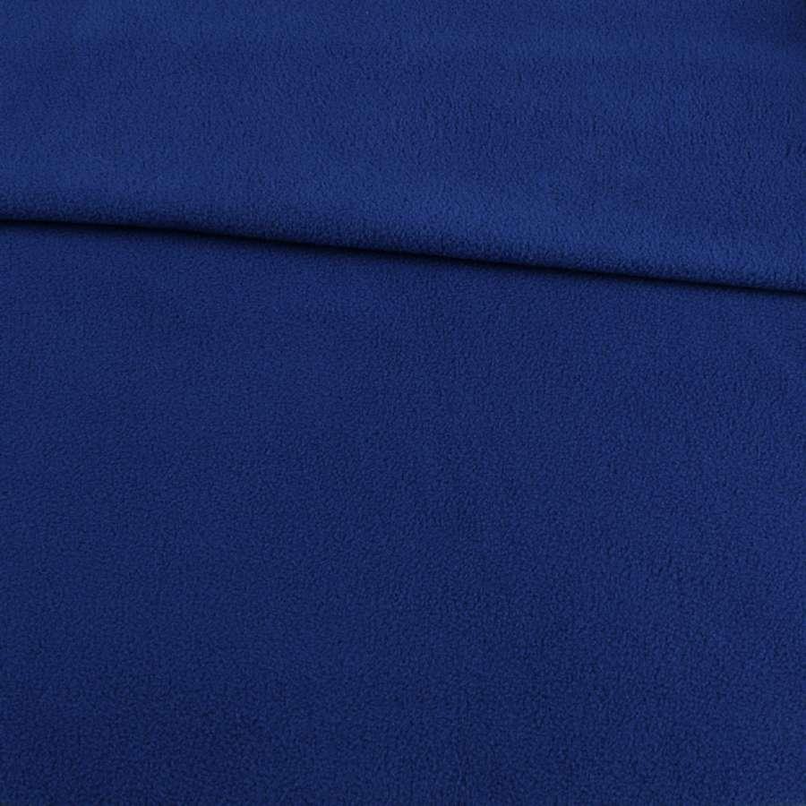 Фліс синій ультрамарин світлий ш.170