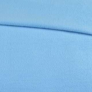 Фліс блакитний ш.160