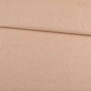 Флис бежево-розовый светлый, ш.165
